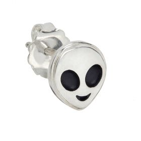 Alien Emoji Stud Single Earring