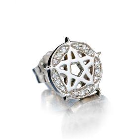 Pentagram Stud Single Earring