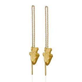 Arrowhead Threader Earrings