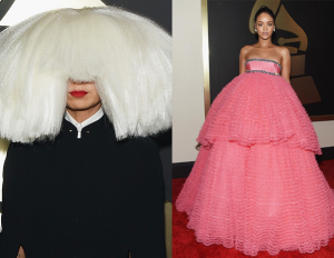 My Best Dressed at the Grammys: Sia and Her Child Minion