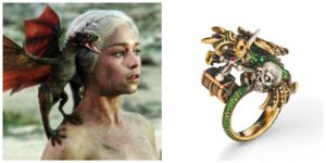 Game of Thrones Engagement Rings; July 4th Sale