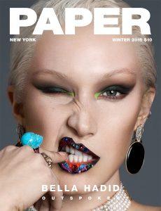 Wendy Brandes X Bella Hadid X Farren Fucci X Paper
