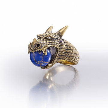Empress Wu dragon ring.