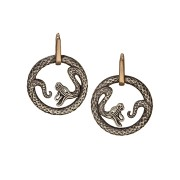 Queen of Scots Earrings - Silver