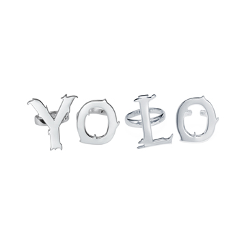 YOLO ring set.