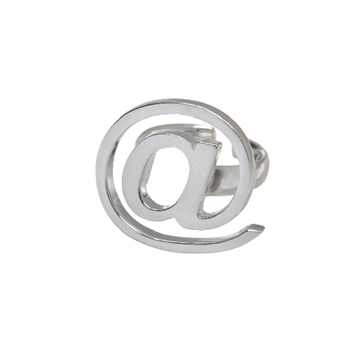 &quot;At Sign&quot; ring.