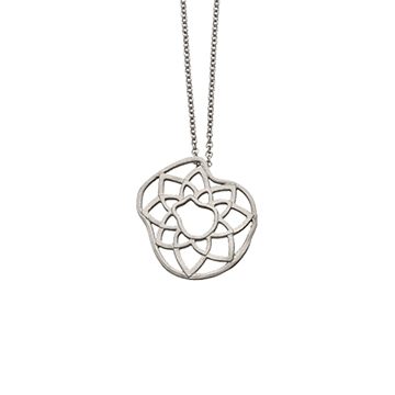 Lotus necklace.