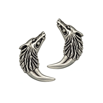 Isabella Wolf-Fang earrings.