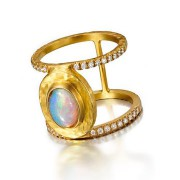 Birthstone Ring - Opal
