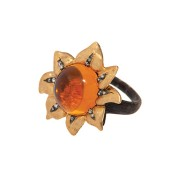 Sunflower ring.