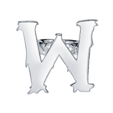 """""""W"""" ring."""