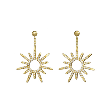 Gloriana earrings.