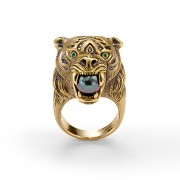 Tiger ring, front view.
