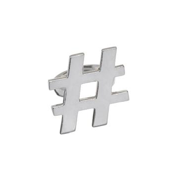 Hashtag ring.