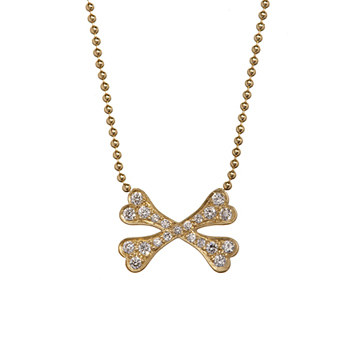 Juana crossbones necklace.