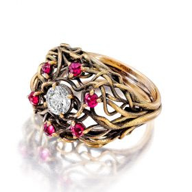 Romantic Bramble Ring