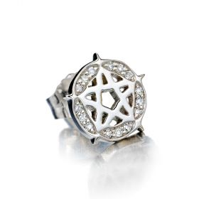 Pentagram Stud Single Earring