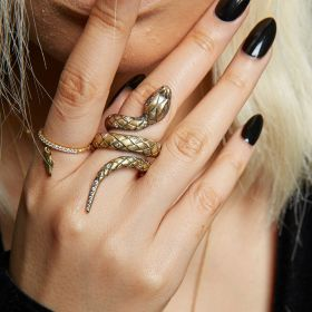 Queen of Scots Snake Ring