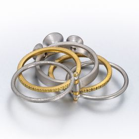 Heather Perma-Stacked Ring