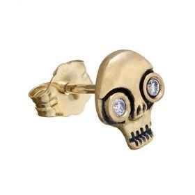 Skull Stud Single Earring