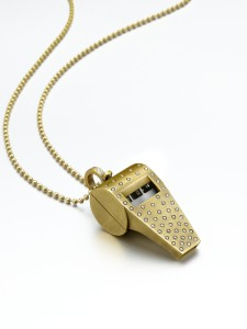 Jewel of the Month: Virginia Woolf Whistle