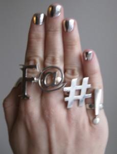 Minx Manicure #3: J.Lo, Beyonce and WendyB*