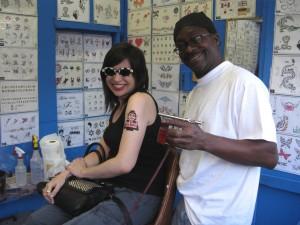 True Blood-Inspired Temporary Tattoo