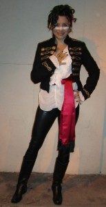 What Wendy Wore: Happy Halloween From Adam Ant
