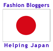 A Badge for Your Blog: Fashion Bloggers Helping Japan