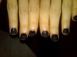 Not-So-Basic Black Nails