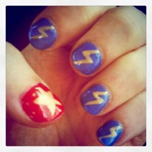 Superhero Manicure