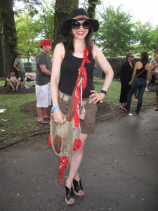 What Wendy Wore: Alexander McQueen at Lollapalooza