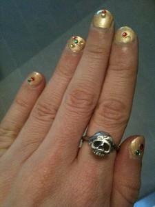 First Glimpse: Memento Mori Ring in Silver