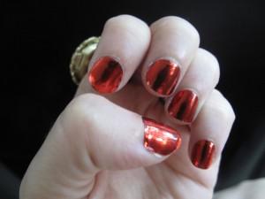 Minx Manicure and a Sneak Peek