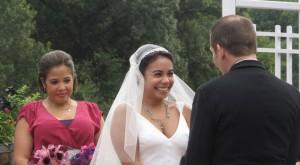 What the Fasshonaburu Bride Wore: Her Own Design