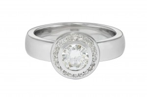 Jewel of the Month: Mindy's Redesigned Engagement Ring