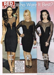 Fashion Repeats Itself: Black Mesh