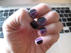 Latest Manicure by Tracylee Percival