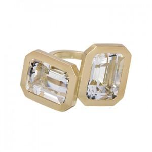 Jennifer Aniston and Her Big Diamond Engagement Ring