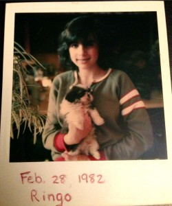 Throwback Thursday: Polaroid, Sweatshirt and Puppy From 1982