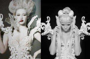 Beyoncé, Kerli, Inspiration and Imitation