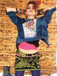 Throwback Thursday: Madonna and Her Keith Haring Denim Jacket