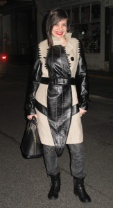 What Wendy Wore: Crazy Castelbajac Coat in London