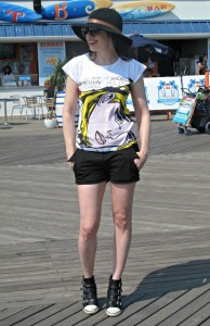 What Wendy Wore: Coney Island Adventure