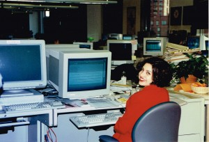 Throwback Thursday: Busy Business Lady, Busy With Business