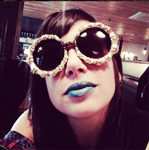 What Wendy Wore Gangsta Boo S Sunglasses Wendy Brandes