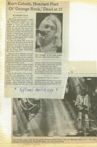 Gone Too Soon: Kurt Cobain and Peaches Geldof