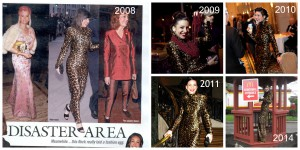 Throwback Thursday: Patrick Kelly Dress X 5, Plus Shania & Kylie