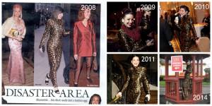 Throwback Thursday: Patrick Kelly Dress X 5, Plus Shania & Kylie
