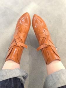 Temptation in Paris: Butterscotch Boots